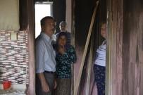 GÜLPıNAR - Tepebaşı Belediyesinden Evi Yanan Aileye Yardım Eli