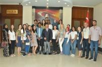YABANCI ÖĞRENCİ - Yabancı Öğrenciler Vali Yazıcı'yı Ziyaret Etti