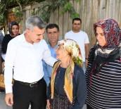 UĞUR POLAT - Yeşilyurt Belediyesi Evi Yanan Aileyi Yeni Evine Kavuşturdu