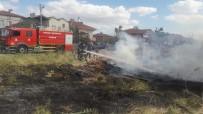 AKSARAY BELEDİYESİ - Aksaray'da Odun Yangını Paniğe Neden Oldu