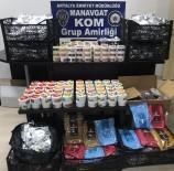 ÇOLAKLı - Antalya'da 255 Kilo Nargile Tütünü Ele Geçirildi