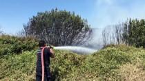 NURULLAH KAYA - Antalya'da Çalılık Yangını