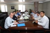 Başkan Bedirhanoğlu Başkanlığında Birimler Toplantısı Yapıldı