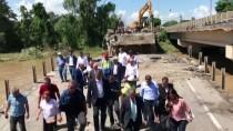 MUSTAFA DESTICI - BBP Genel Başkanı Mustafa Destici Sel Bölgesinde