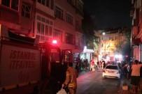 CENAZE ARABASI - Fatih'te Korkutan Yangın