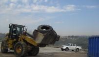GERİ DÖNÜŞÜM - İzmit'te Atık Lastikler Geri Dönüşüme Gidiyor
