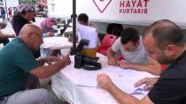 KAN BAĞıŞı - Kahramankazan'da Kan Bağışı Kampanyası