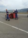 AKKISE - Kargı'da Trafik Kazası Açıklaması 1 Yaralı