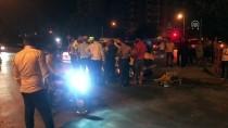 Kaza Yapan Araç Kaldırımdaki Yayalara Çarptı Açıklaması 3 Yaralı