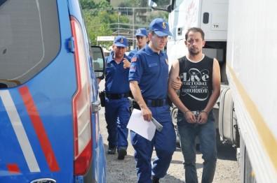 Kiralık Araçla Kaza Yaptı, Yakalandı