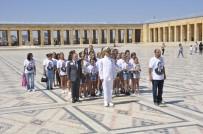 GENÇ KIZLAR - Madalyalarla Anıtkabir'e Ziyaret