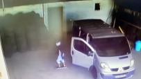 MASKELİ HIRSIZLAR - Maskeli Hırsızlar 20 Bin TL'lik Tır Lastiklerini Böyle Çaldı