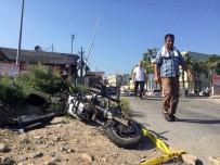 ELEKTRİKLİ BİSİKLET - Mersin'de 1 Kişinin Öldüğü, 1 Kişinin De Yaralandığı Tren Kazası Kamerada