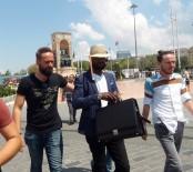GÜVEN TİMLERİ - (Özel) Otellere Sahte Dolar Pazarlayan Nijeryalı Dolandırıcı Yakalandı