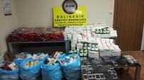 DOKUNMATIK EKRAN - Polisten Kaçak Cep Telefonu Aksesuarı Operasyonu