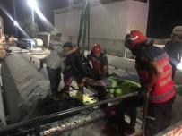 KAYNAR - Sakarya'da Asfalt Şantiyesinde Feci Ölüm