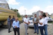 HIZMET İŞ SENDIKASı - Sütlüce Mahallesi'nde 8 Kilometrelik Sathi Asfalt Kaplama Çalışması