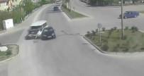DİKKATSİZLİK - Trafik Kazaları, MOBESE Kameralarına Anbean Yansıdı