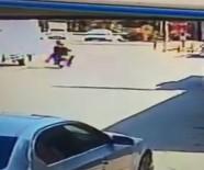 ELEKTRİKLİ BİSİKLET - Tren Kazası Kamerada Açıklaması 1 Ölü, 1 Yaralı