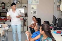 İLKÖĞRETİM OKULU - Ülkemize Sığınan Minik Suriyelilere Eğlenceli Dil Eğitimi