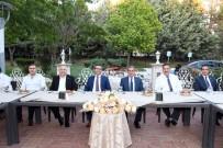ADıYAMAN ÜNIVERSITESI - Vali Kalkancı'dan Başsavcı Karabacak Onuruna Veda Yemeği