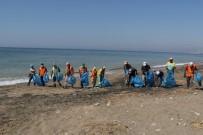KAZANLı - Akdeniz'de Caretta Caretta Yuvalarının Çevresi Temizlendi