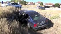 Aksaray'da Otomobil Şarampole Devrildi Açıklaması 6 Yaralı