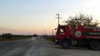 ANIZ YANGINI - Anız Yangınında 400 Dönüm Ekili Alan Kül Oldu