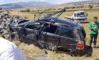 Bingöl'de Otomobil Şarampole Yuvarlandı  Açıklaması4 Yaralı