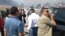 BEBEK MAMASI - Bursa Büyükşehir Belediye Başkanından Üçüzleri Olan Aileye Ziyaret