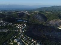 ZEYTINLIK - Bursa'nın Yanan Ciğerleri Havadan Görüntülendi