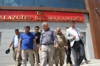 SONER KIRLI - Diyarbakır Büyükşehir Belediyesi Kayyumundan Malazgirt Kayyumuna Ziyaret