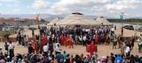 İBRAHIM AYDEMIR - Erzurum Türk Oyunları Başladı