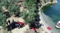 Gemlik Körfezi'nde 'Drone' Destekli Kaçak Midye Operasyonu