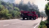 İTFAİYE ARACI - GÜNCELLEME - Bursa'da Orman Yangını