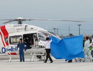 Japonya'da helikopter düştü: 9 kişi öldü