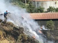 BELDE BELEDİYESİ - Kağıt Fabrikasında Yangın