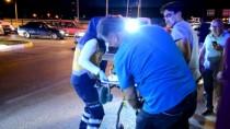 POLİS ARACI - Karaman'da Polis Aracı İle Otomobil Çarpıştı Açıklaması 3 Yaralı
