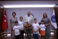 EKİNEZYA ÇAYI - LÖSEV Gönüllüleri Başkan Çelik'i Ziyaret Etti