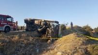 Motor Arızası Olan Tır Kaza Yaptı Açıklaması 1 Ölü