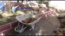 ÜSKÜDAR BELEDİYESİ - Okul Bahçesinde Bulunan Testi Kalıntıları Kazıyı Durdurdu