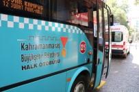 PAZAR ALIŞVERİŞİ - Otobüste Fenalaşan Yolcuyu Kurtarma Çabası