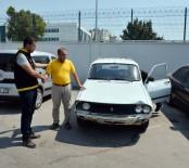 OTO HIRSIZLIK - Otomobil Hırsızlarını 20 Liralık Yakıt Ele Verdi