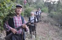 Köylülerin Silahla Domuz Nöbeti