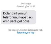 SAHTE POLİS - Polis SMS Attı, Yaşlı Adam 190 Bin Lirasını Kaptırmaktan Kurtuldu