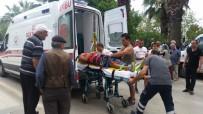 ELEKTRİKLİ BİSİKLET - Sinop'ta Trafik Kazası Açıklaması 1 Yaralı