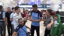 RECEP KıVRAK - Trabzonspor Kafilesi, İstanbul'a Geldi