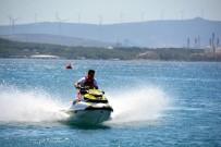 ÖDÜL TÖRENİ - Türkiye Su Jeti Ve Flyboard Şampiyonası Aliağa'da Başladı