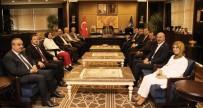 MEDYA KURULUŞLARI - AK Parti İl Başkanlığı, Bursalı Vekiller İle İstişare Turunda