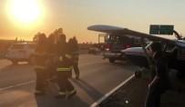 KALIFORNIYA - Arızalanan Uçak Otoyola İniş Yaptı